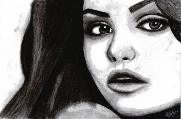 Mila Kunis por eaglefeather9